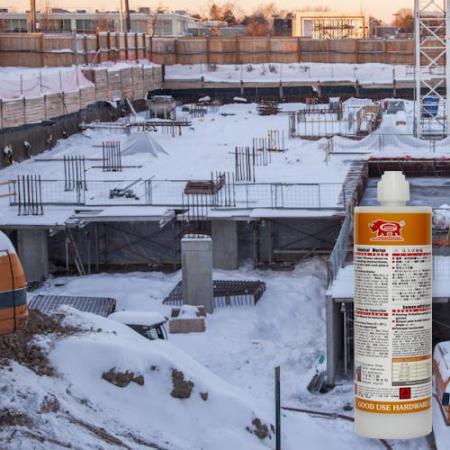 Vinylesterstyrenfri för användning under kalla vinterförhållanden