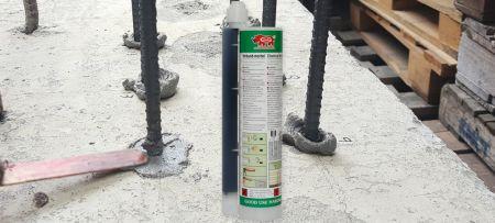 Клей для анкеровки арматуры для строительного магазина