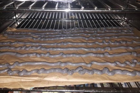 Oven testing for resistance to high temperature