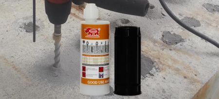 Cola de fixação química para uso doméstico - Âncora química de viniléster fácil e rápida para todas as fixações