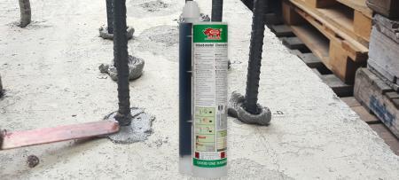 Système d'ancrage 360ml ancre chimique polyester - Fixation adhésive polyester 360 ml en deux parties