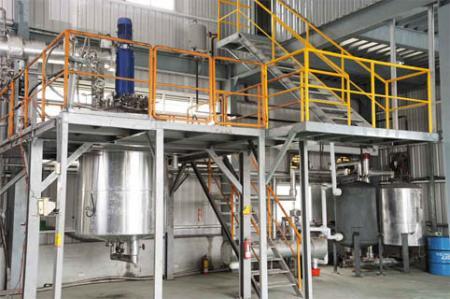 Оборудование реакционного резервуара
