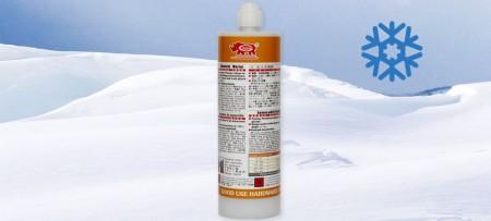 Injekční vinylesterová pryskyřice vytvrzující za nízké teploty - GU-2000 Vinylester bez styrenu, vysoce lepená injektážní malta v zimním prostředí