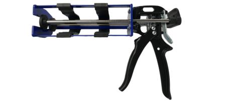 Pistol dempul kartrid komponen ganda 400ml - Dispenser pistol tabung kembar non-tetes - G34-400