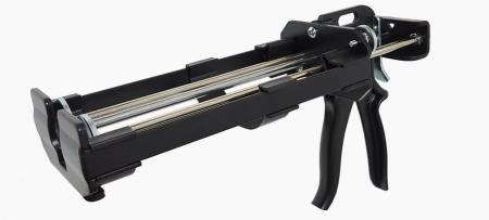 Пистолет для герметика 650 мл с двойным картриджем - Пистолет для герметика для тяжелых условий эксплуатации - HC6-600