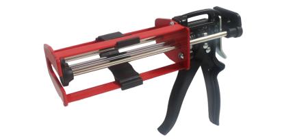 Pistola de calafetagem de cartucho adesivo de componente duplo de 200 ml - Pistola aplicadora de âncora epóxi de injeção manual - LG97-200
