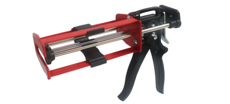 200ml pistol mendempul kartrid perekat komponen ganda - Pistol aplikator jangkar epoksi injeksi manual - LG97-200