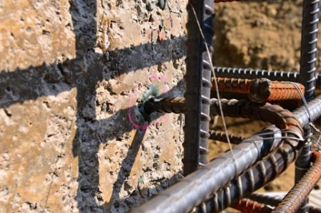 Ultimate strength for rebar connections in wall application