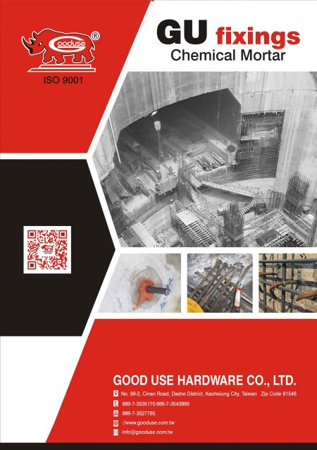 2019 Good Use Hardware Co, Ltd Katalog Jangkar Kimia