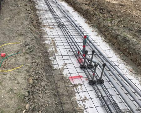 Mortier chimique pour la fixation de fondations post-installées