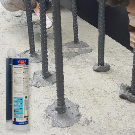 Epoxy acrylate pour l'installation d'ancrage de renfort