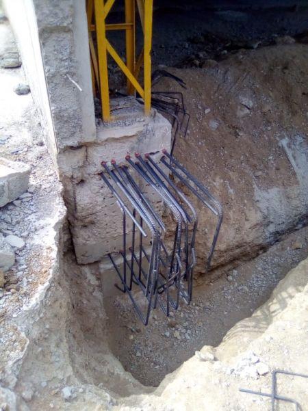 環氧植筋膠用於加強樑柱承載力