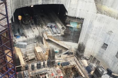 Epoxiinjektionsbruk med hög hållfasthet för stora byggarbetsplatser