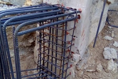 High bonding rebar anchoring in low temperature