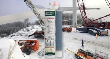 Winter concrete epoxy resin