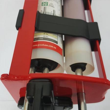Pásky na umístění kazet ruční kapesní zbraň s dvěma náboji