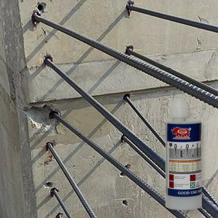 Epoxy acrylate with styrene for fixing steel bar