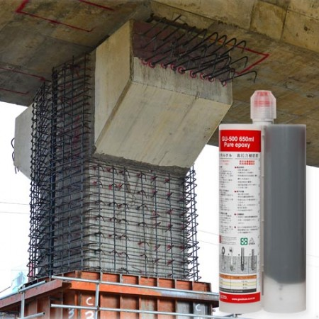 Heavy duty epoxy resin for structural concrete anchoring