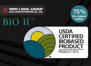 L'éponge en caoutchouc biosourcée à 75% est fabriquée à partir de matières premières biosourcées et approuvée par l'USDA.