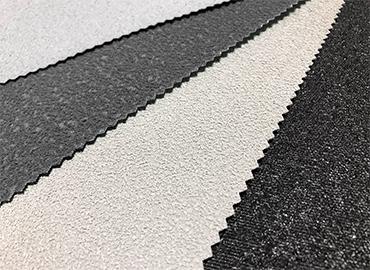 尼奧普林neoprene碎粒製成的回收環保止滑耐磨材料。