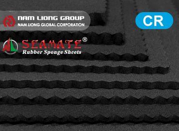 SEAMATE® Chloroprene Rubber Foam is the closed-cell rubber sponge.