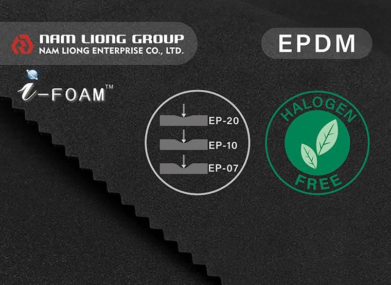 La esponja EPDM tiene una excelente resistencia a la intemperie y es particularmente adecuada para varios tipos de vehículos.