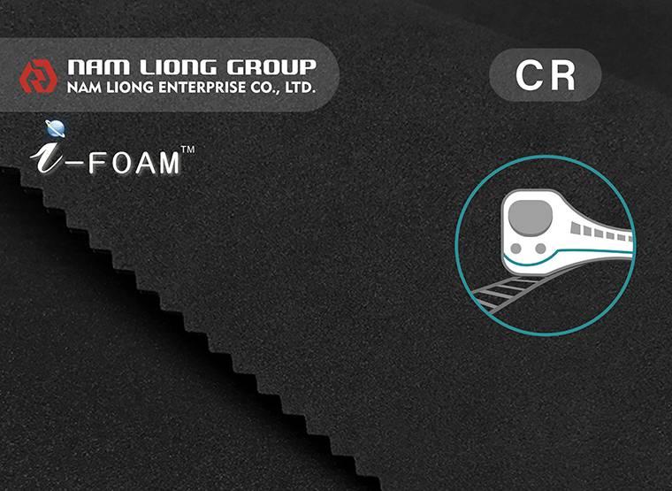 A esponja de borracha de cloroprene HR é especialmente desenvolvida para a indústria de veículos ferroviários.