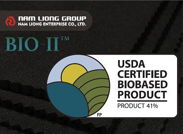 فوم لاستیکی دارای گواهینامه زیستی مبتنی بر USDA