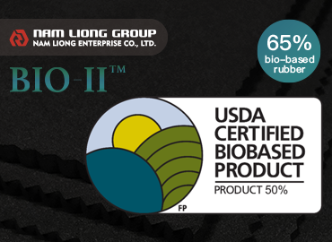 65% Bio-based Rubber Sponge