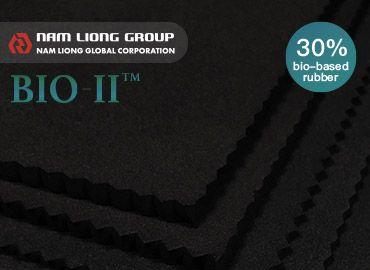 30% Spons Karet Berbasis Bio - 30% Spons Karet Berbasis Bio terbuat dari bahan baku berbasis bio.