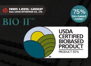 75% Bio-based Rubber Sponge - 75% Bio-based Rubber Sponge is made from the bio-based raw materials and approved by USDA.