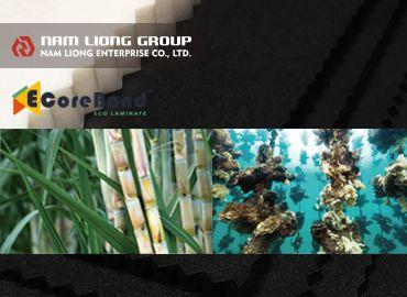Spons plastik termal berbasis bio - Spons plastik terbuat dari kulit tebu dan cangkang tiram.