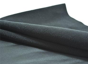 Kain Lingkaran Disikat - Knit brushed loop, juga disebut velour, menyediakan pilihan baru loop lebar.