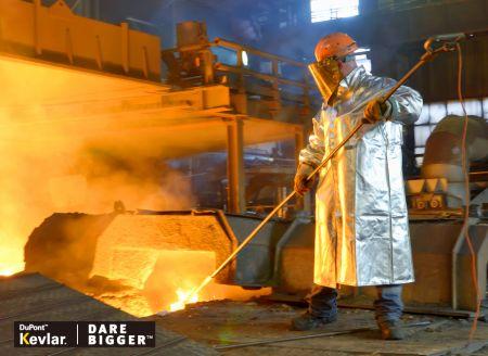 Tecidos retardadores de fogo - Tecido retardador de chamas ZEROMELTS®.