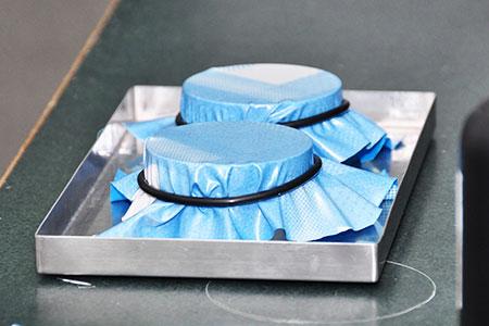 Métodos de teste para permeabilidade ao vapor de água