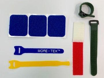 Gancho e laço especialmente processado - Correia especialmente projetada para várias aplicações.