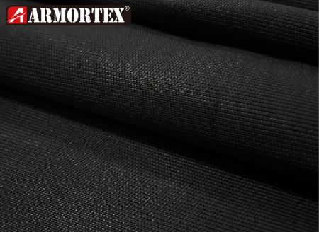UHMWPE High Puncture and Cut Resistance Black Knitted Fabric