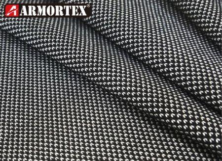 Tecido de poliéster reciclado UHMWPE resistente a cortes sem metal