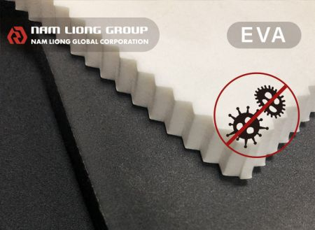 Anti-bacterial EVA Foam - Anti-bacterial EVA foam is the foam with anti-bacterial treatment.
