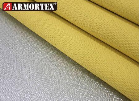 Aluminum-FR PU-Woven-Fire-Retardant-Fabric