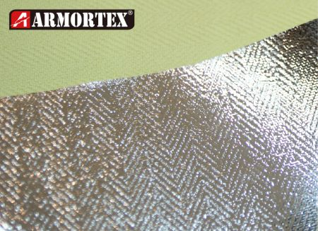 Kevlar® Aluminum Foil Woven Fire Retardant Fabric - Aluminum Foil Woven Fire Retardant Fabric