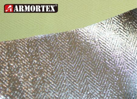 Tecido retardador de fogo tecido de folha de alumínio Kevlar® - Tecido Retardante de Fogo Tecido de Folha de Alumínio