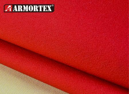 彩色皮料与凯芙拉®贴合的防割布 - 杜邦凯芙拉® 贴合皮料耐割布