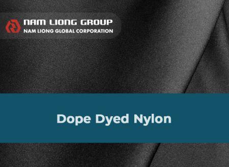 Laminasi kain Nylon Dope Dicelup - Laminasi kain Nylon yang dicelup obat bius adalah bahan komposit dari kain dan spons Nilon yang dicelup obat bius.