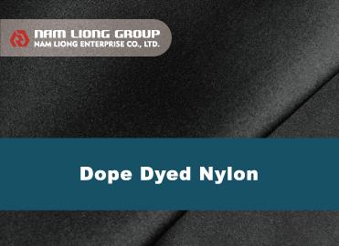 Dope Dyed尼龙布橡胶海绵贴合品 - Dope Dyed尼龙布橡胶海绵贴合品是以原抽色纱尼龙布种与橡胶海绵进行贴合。