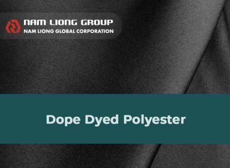 Dope Dyed聚酯布橡膠海綿貼合品 - Dope Dyed聚酯布橡膠海綿貼合品是以原抽色紗聚酯布種與橡膠海綿進行貼合。
