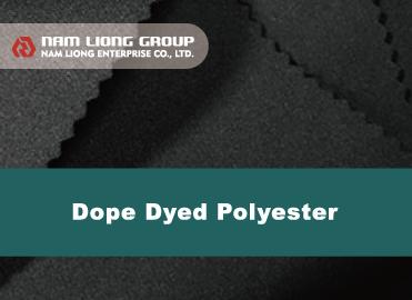 Dope Dyed聚酯布橡胶海绵贴合品 - Dope Dyed聚酯布橡胶海绵贴合品是以原抽色纱聚酯布种与橡胶海绵进行贴合。