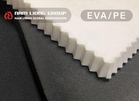 Espuma EVA - A espuma EVA é a esponja leve e de fácil fabricação.