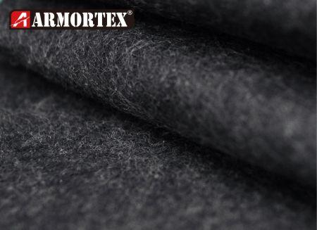 耐高温隔热针轧防火布 - 氧纤针轧防火布