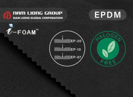 Espuma EPDM Regular - A espuma EPDM regular tem excelente resistência às intempéries.